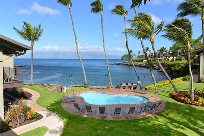 View from Unit #207 Lanai