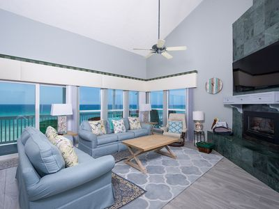 Photo for Top Shelf-West Corner Penthouse-Stunning Beach and Sunset Views