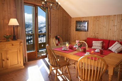 Welcome to your cozy apartment in La Toussuire.