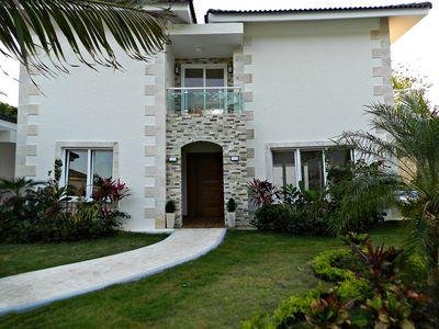 Photo for 3BD villa in beachfront residence, private pool, fully furnished and equipped