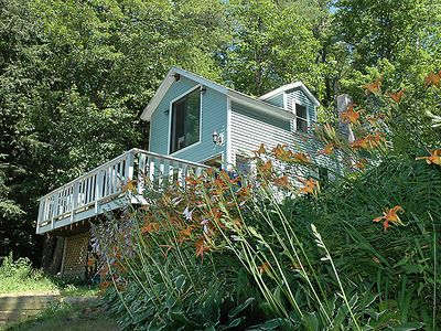 Beautiful, private waterfront, great spot for romance or family fun!