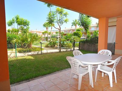 Photo for Apartment 26 m from the center of Xàbia with Pool, Lift, Parking, Garden (90173)