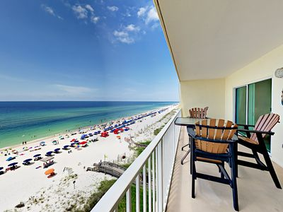 Balcony - Welcome to Gulf Shores! Your rental is professionally managed by TurnKey Vacation Rentals.