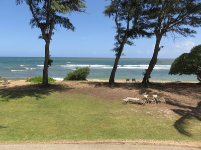 #254 - Direct Oceanfront Kauai Rental By Owner Ocean View FREE WiFi Parking A/C
