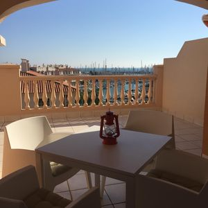 Photo for Seaview Apartment at Almérimar Marina & Golf Resort with swimming pool.