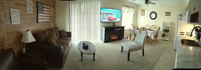Photo for April $79  New carpet! THREE Bed ~Big Screen TV's ~Pond view~Amenities~Fireplace