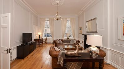 Photo for Luxury Georgian apartment in the City Centre Edinburgh