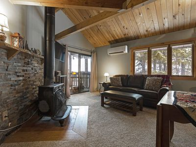 Photo for Beautiful Ptarmigan condo just remodeled - Pool, hot tub and Whitefish Lake access!!!