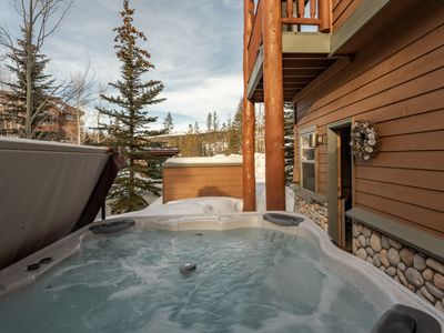 Photo for Stay in the heart of Winter Park |  Soak in the private hot tub {4 bedrooms, 2 decks}