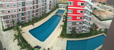 Photo for S & D / CC CONDOMINIUM 2. FREE WIFI. 3 POOL. HOT WATER. PATTAYA. B2 THAILAN