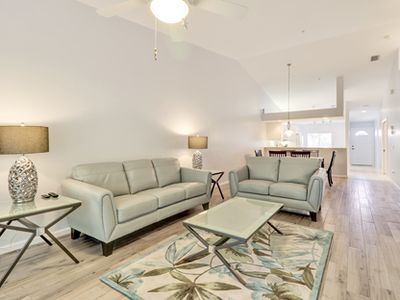 Photo for Tranquil Preserve view condo in Falling Waters
