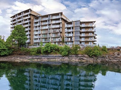 Photo for Victoria 2 bdrm Condo on waterfront July 29 for one full week.