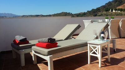 Photo for La Cala de Mijas Luxury Penthouse all day sun, fabulous views