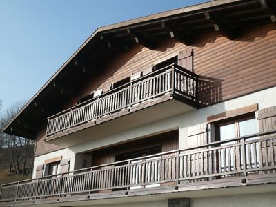 Photo for 80 m2 apartment with panoramic mountain views on the slopes