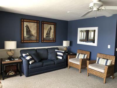 Photo for Comfortable, clean, quiet condo with water views close to Port Clinton downtown!