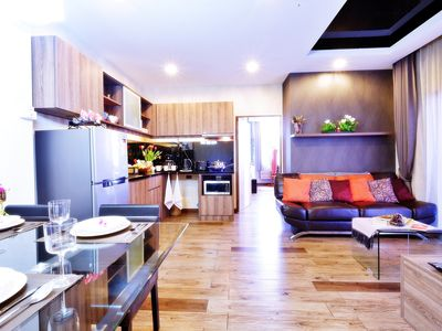 Photo for ❤️2 Bedroom 6 People, Elegant Living at Nimman area