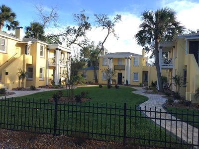 Photo for Romantic Getaway -Parking - Immaculate Property-- 2 short blocks to City Center
