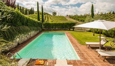 Photo for CHARMING FARMHOUSE in Radda in Chianti (Chianti Area) with Pool & Wifi. **Up to $-1508 USD off - limited time** We respond 24/7