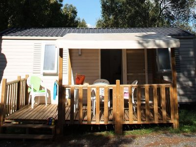 Photo for Camping Site Gorge Vent *** - Mobile Home Mercure 3 rooms 4 persons