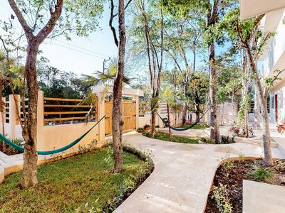 Photo for NEW LISTING! Three studios in a quiet location w/ a shared plunge pool & garden
