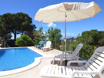 Photo for Club Villamar - Beautiful home in Spanish style with private pool and stunning view