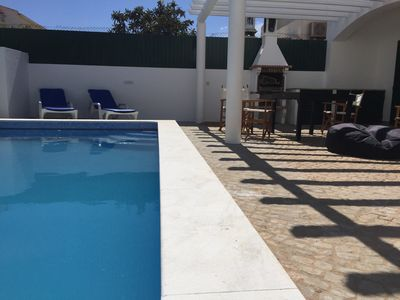 Photo for AL24611 Super 4 bed house with pool in tranquil area near the beach. Lic 24611/A