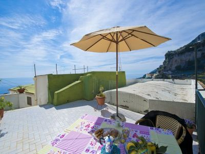Photo for One bedroom Apartment, sleeps 3 in Amalfi with WiFi