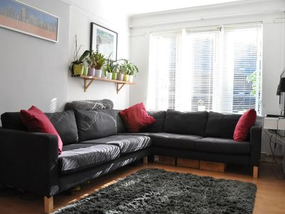 Photo for Lovely Cosy 2-Bed Flat in Great Location - Two Bedroom Apartment, Sleeps 4