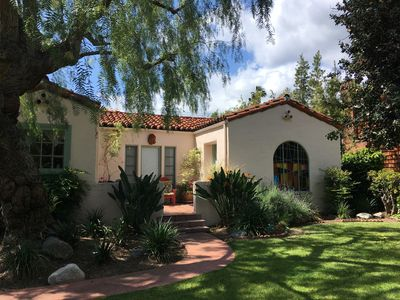 Classic Spanish Home with Beautiful View of The San Gabriel Mountains