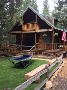 """Photo for New sister to """"Cozy Mountain Cabin by the Lake"""" -  9 miles to Lassen Park"""
