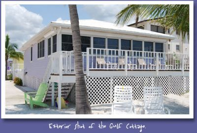 Photo for The Gulf Cottage at the Cottages of Paradise Point - Gulf Front 2bd/2ba North End