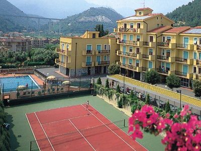 Photo for Nicely furnished apartments in a typical Mediterranean residence with an open air swimming pool.