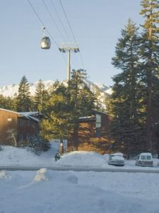 View from Home of Canyon Lodge Gondola