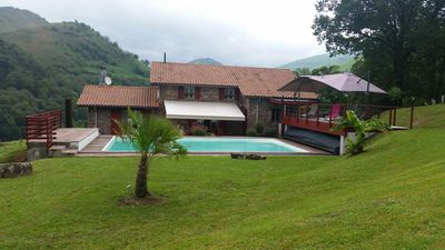 Photo for Rental charming house with character 11 PERS POOL at the foot of montag