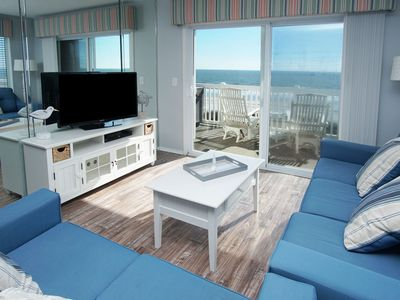 Photo for RAINTREE VILLAS of North Myrtle Beach... oceanfront condos with an outdoor pool