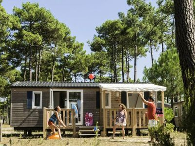 Photo for Camping Atlantic Club Montalivet ***** - Mobil Home Cozy Plus Clim 4 Rooms 6 Persons