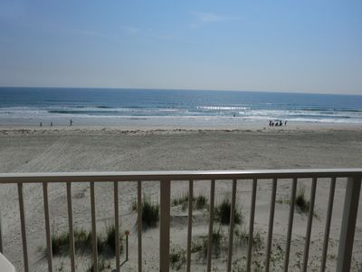 Photo for Quiet Beach Front Condo In Ponce Inlet, FL