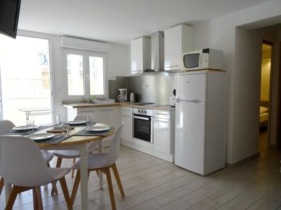 Photo for P2 rental in Grau du Roi 120m from the beach Completely refurbished