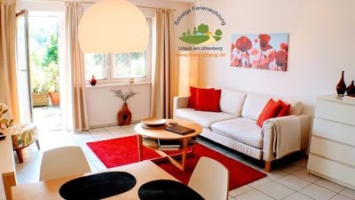 Photo for Absolute quiet apartment in an attractive residential area at the nature reserve