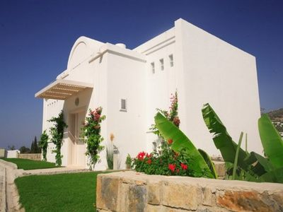 Photo for Gundogan Villa White 3 Bedroomed With Swimming Pool.
