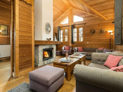 Photo for Chalets de l'Altiport - Cabin 6 Rooms Cabin - 12 People