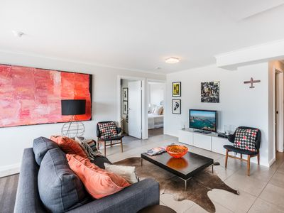 Photo for Open floor plan with loads of natural light throughout