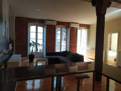 Photo for INSIDEHOME: Brand new loft next to Plaza Mayor (air conditioning and free wifi)