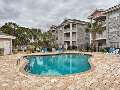 Photo for NEW! Cozy Myrtle Beach Condo on Golf Course w/Pool