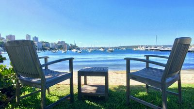 Photo for Double Bay Waterfront Classic Harbour Apartment