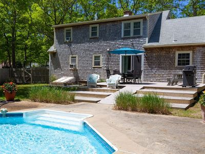 Photo for Four Bedroom Pool Oasis Steps from the Water