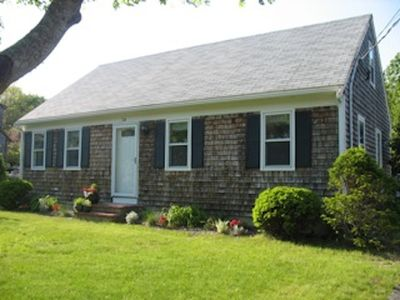 Photo for Nice Value for Bright, Adorable, Modern Cape central to everything in Falmouth!