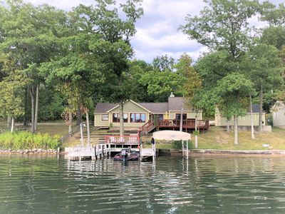 Photo for WAKE & LAKE Cottage - Clam/Torch Lake Summer Vacation!
