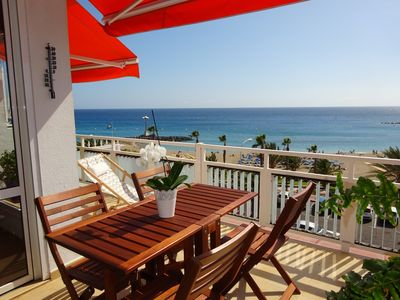 Photo for Luxurious Apartment With Large Terrace In 1st Sea Line - Stunning Views