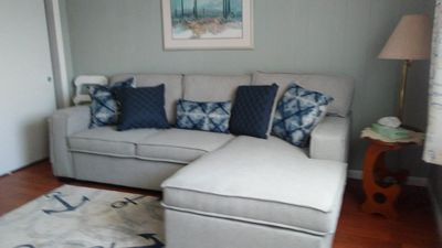 Photo for Cozy beach cottage just 1 and a 1/2 blocks from the beach in Wildwood Crest, NJ